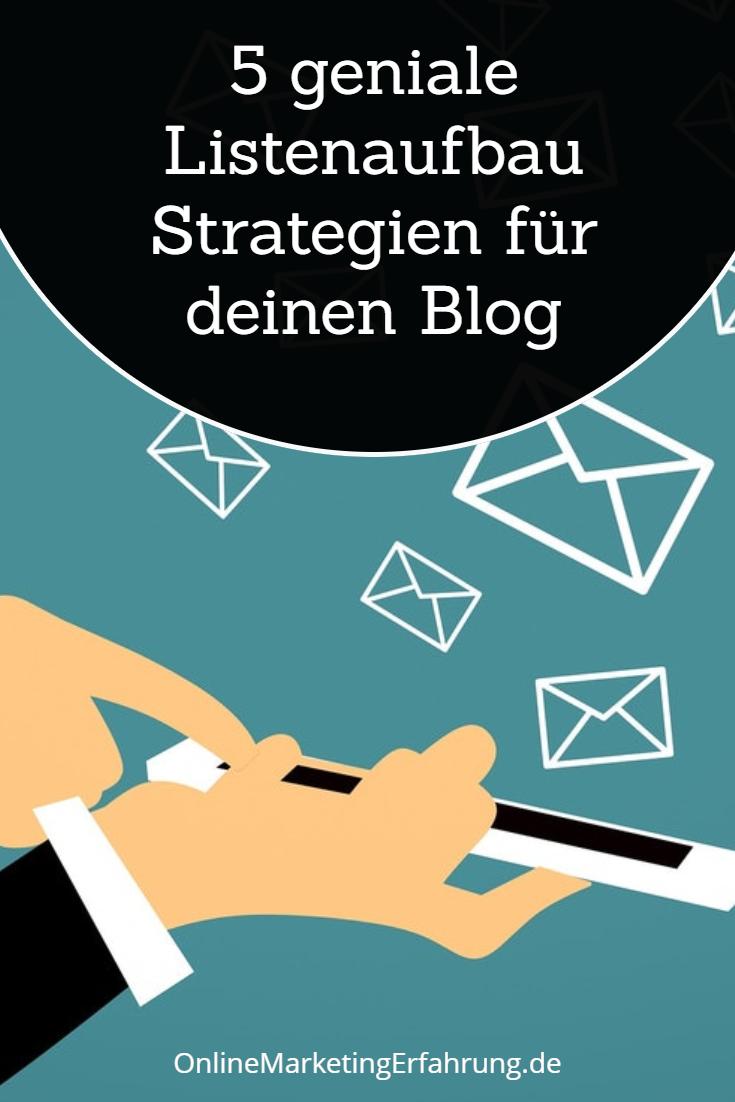 5 Listenaufbau Strategien