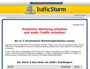 traffic sturm