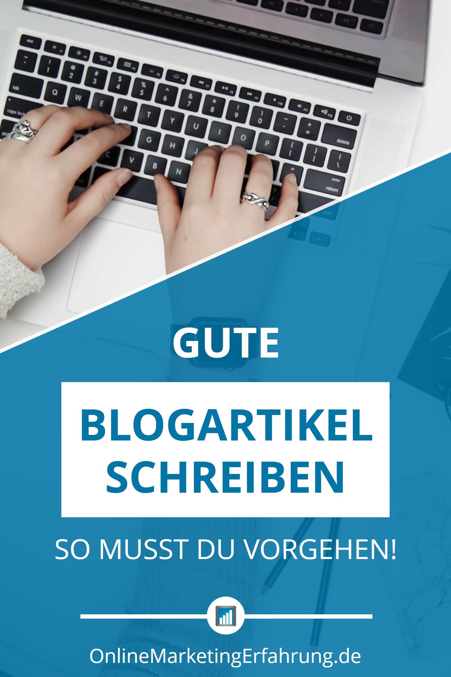 Gute Blog Artikel schreiben