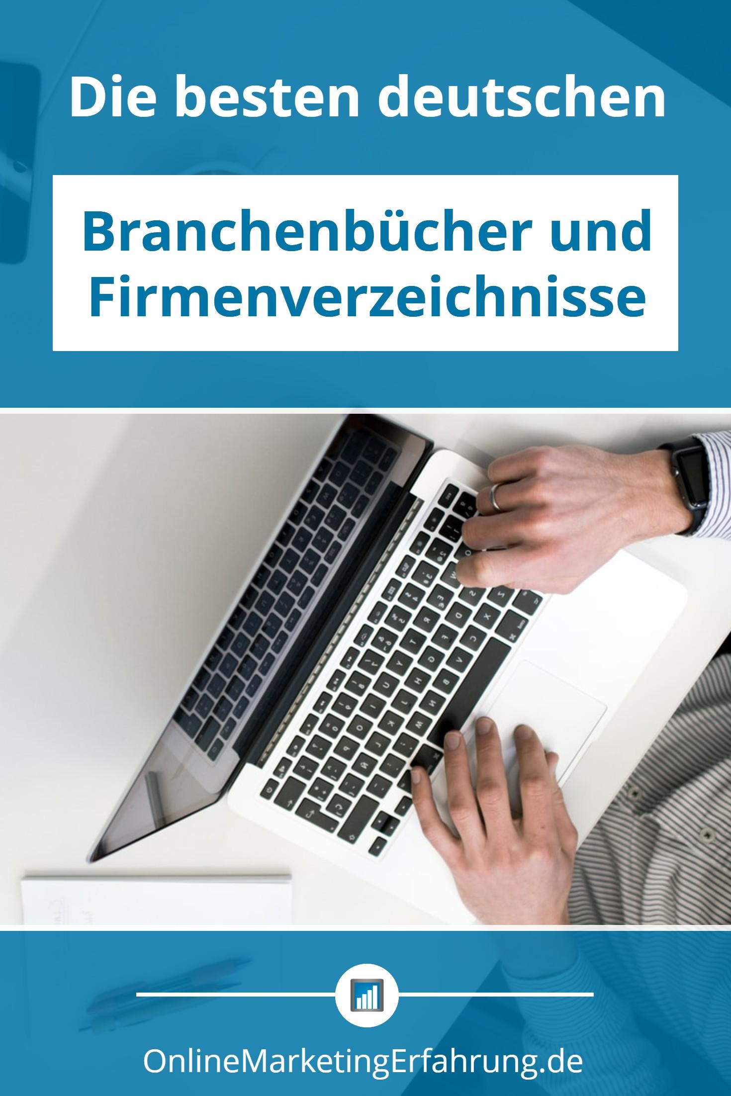 branchenbücher und firmenverzeichnisse