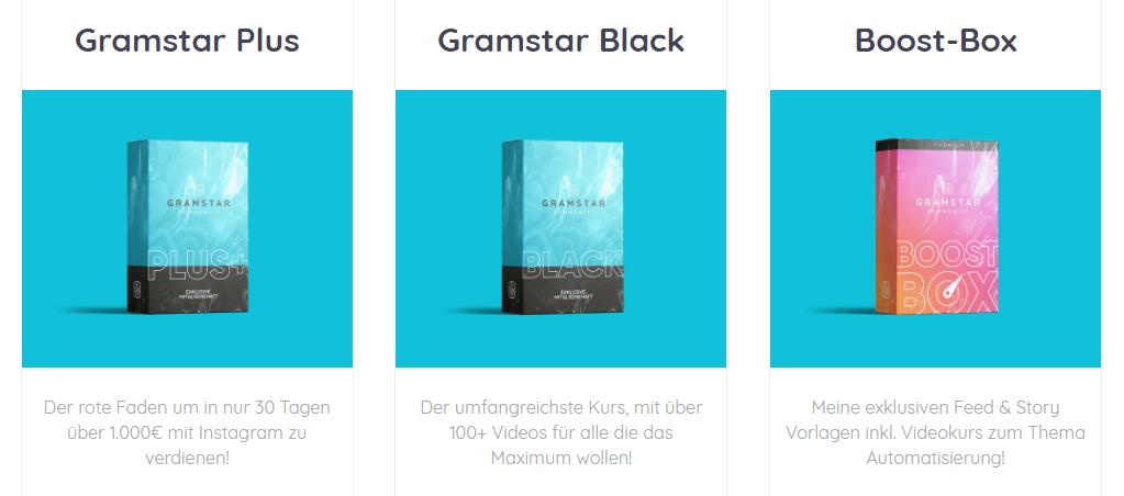Gramstar Upgrade Angebote